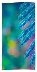 Formosa Leaf Abstract  Beach Towel by Bruce Pritchett