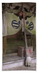 Forrest Shrine, Japan 4 Beach Towel
