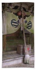 Forrest Shrine, Japan 4 Beach Towel
