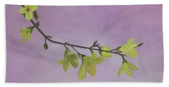 Forsythia Beach Sheet