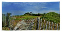 Fort Fisher Fence Beach Towel