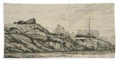 Fort Haight, Battle Of Harlem Plains Beach Towel