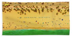 Fort Lauderdale Florida Beach Sheet by Lance Asper