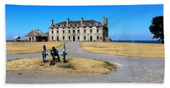 Beach Towel featuring the photograph Fort Niagara  by Raymond Earley
