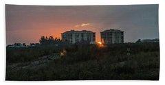 Fort Pierce Sunrise Beach Towel