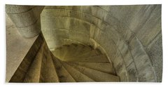 Fort Popham Stairwell Beach Towel