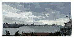 Fort River City Art Beach Sheet