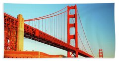 Fort Ross At The Golden Gate Beach Towel