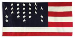 Fort Sumter Flag Beach Towel