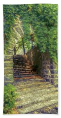 Fort Tryon Park Archway Beach Towel