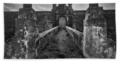 Beach Towel featuring the photograph Fortress Of Sao Joao Baptista, Monte Brasil, Terceira by Kelly Hazel