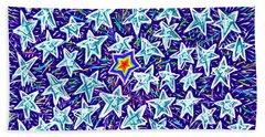 Forty Nine Stars Beach Towel