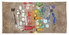 Found Items Rainbow Beach Towel