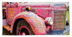 Four Alarm Blaze Beach Towel