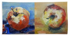 Four Apples A Day Beach Sheet