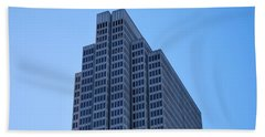 Four Embarcadero Center Office Building - San Francisco Beach Towel by Matt Harang