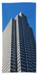 Four Embarcadero Center Office Building - San Francisco - Vertical View Beach Towel