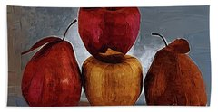 Four Fruits Beach Towel by Kirt Tisdale