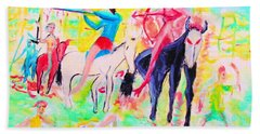 Four Horsemen Beach Towel