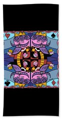 Four Kings Beach Towel