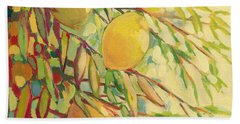 Four Lemons Beach Towel