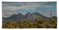 Four Peaks Painterly Beach Towel