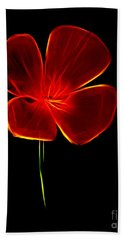 Four Petals Beach Towel