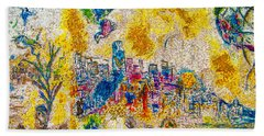 Four Seasons Chagall Beach Towel