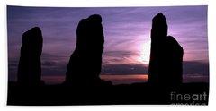 Four Stones Folly Clent Hills Beach Towel