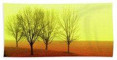 Four Trees Beach Towel