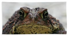 Fowler's Toad #3 Beach Towel