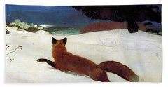 Fox Hunt Beach Towel