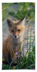 Fox Kit Beach Towel
