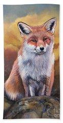 Fox Knows Beach Towel