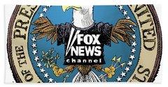 Fox News Presidential Seal Beach Sheet