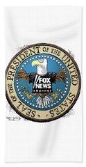 Fox News Presidential Seal Beach Towel