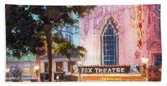 Fox Theatre In St.louis Beach Towel