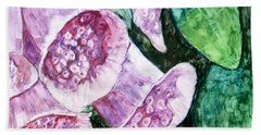 Foxgloves Beach Sheet
