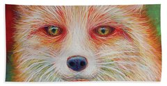Foxy-loxy Beach Towel