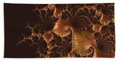 Beach Sheet featuring the digital art Fractal Alchemy by Susan Maxwell Schmidt