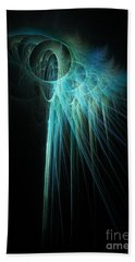 Fractal Rays Beach Towel