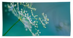 Fragile Dill Umbels Beach Towel