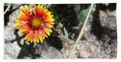 Fragile Floral Life On The Trail Beach Sheet