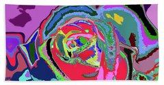 Fragrance Of Color  Beach Sheet