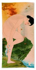 Fragrant Bath 1930 Beach Towel