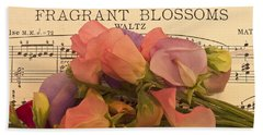 Fragrant Blossoms Beach Sheet