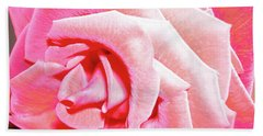 Beach Towel featuring the photograph Fragrant Rose by Marie Hicks