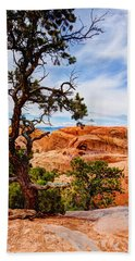 Framed Arch Beach Towel