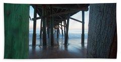 Framed In The Shadows Beach Sheet