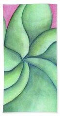 Frangipani Green Beach Sheet
